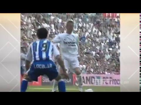 Реал Мадрид 5-1 Малага. Чемпионат Испании 2002-2003. 34 тур