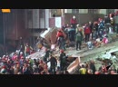 Разбор завалов рухнувшего дома в Турции