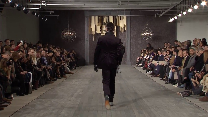 Joseph Abboud F/W 2016 Runway Show at New York Fashion Week: Men's