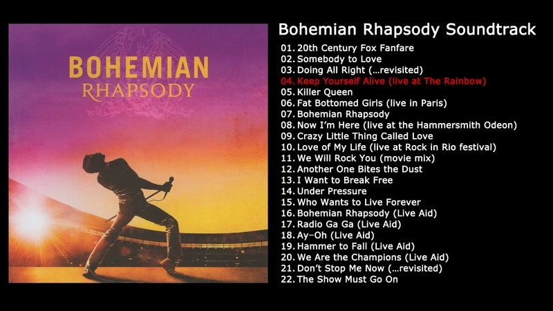 보헤미안 랩소디 OST 전곡 | Bohemian Rhapsody OST Soundtrack