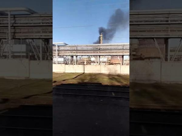 Пожар на заводе Нижнекамскнефтехим
