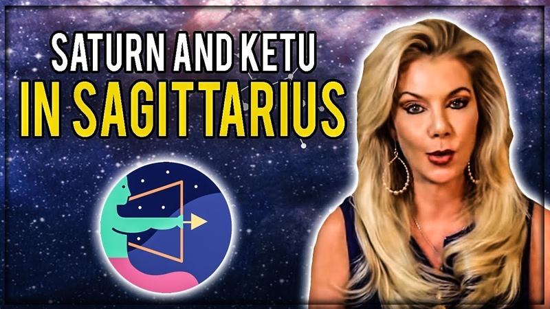 Saturn conjunct Ketu in Sagittarius