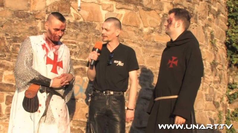 UnArt Live TV - Interview Heimataerde, CastleRock Mülheim 2010