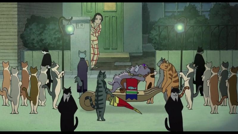 Кошачья свита (аниме Neko no Ongaeshi)