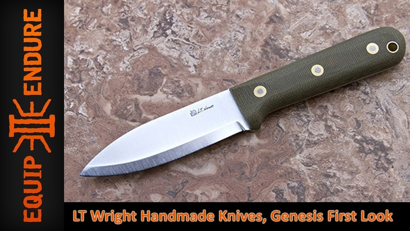 LT Wright Handcrafted Knives Genesis First Look by Equip 2 Endure