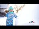 ПРОМО ролик комбинезон из мембранной ткани NIKASTYLE Зима 2019