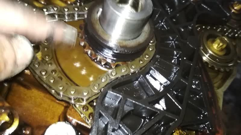 Mercedes Benz E200 Kompressor (W211) M271.941 (Ремонт ДВС) Разборка ч.4