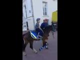 Покатушки на лошадке))