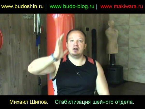 Стабилизация шеи. Михаил Шилов