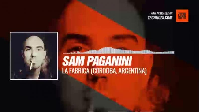 Techno music with Sam Paganini live at La Fabrica (Cordoba, Argentina) Periscope
