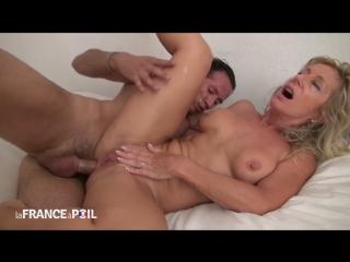 Marina Beaulieu. Шикарная тётка и племяш. мамки милфы тёлки жёны мачехи жёсткий секс анал mature mom milf stepmom anal ass boobs