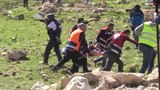 Israeli soldiers assault Palestinian paramedics as they tend to the injured