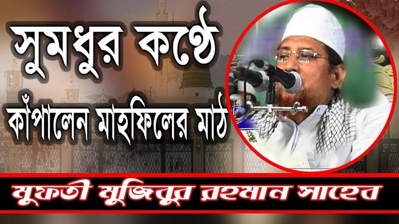কন্ঠ নয় যেন বাশির সুর Bangla Waz 2018 ঈমান আমল ও নিরাপত 2