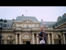 Елена Тепляшина Сьемки в Париже