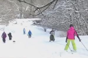 Не хуже Буковеля: В Лисичанске создали свой горнолыжный курорт