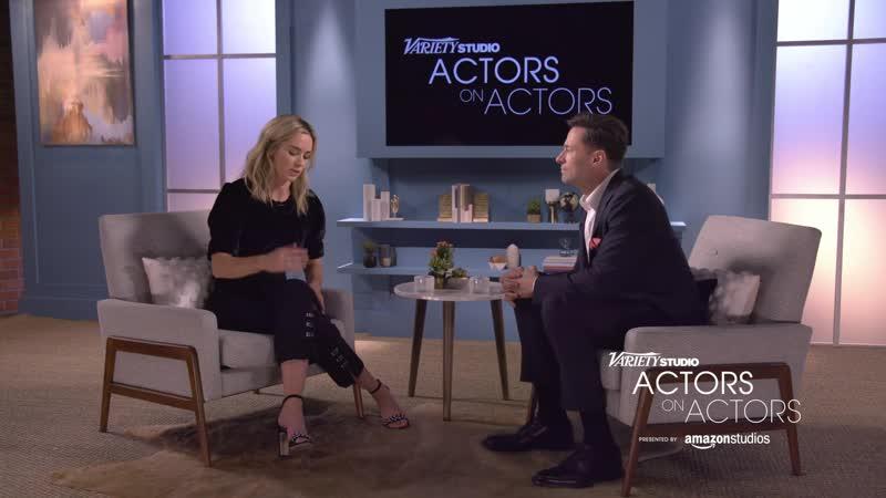 Variety's ACTORS on ACTORS : Emily Blunt Hugh Jackman