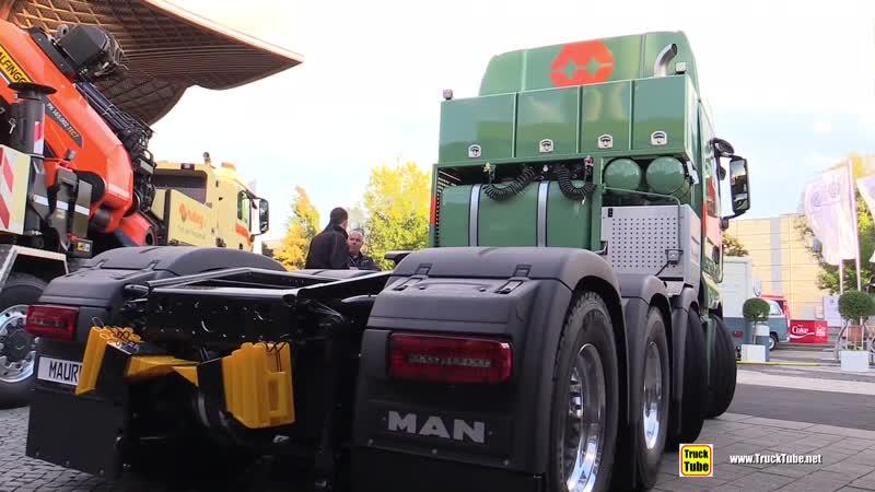 2018 MAN TGX 33 580 D38 by Toni Maurer - Exterior and Interior Walkaround - 2018 IAA Hannover