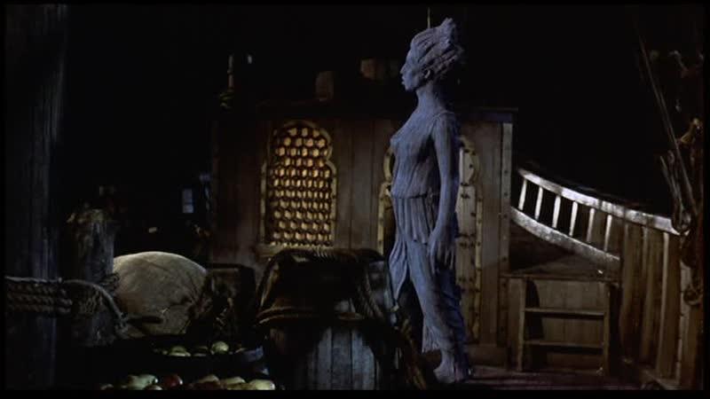 Золотое путешествие Синдбада. (США, 1973) Приключения. Фильм дублирован на киностудии имени М. Горького в 1977 году.