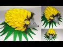 79) Ide Kreatif - Cara membuat tempat permen dari kain flanel || candy landak || candy merak