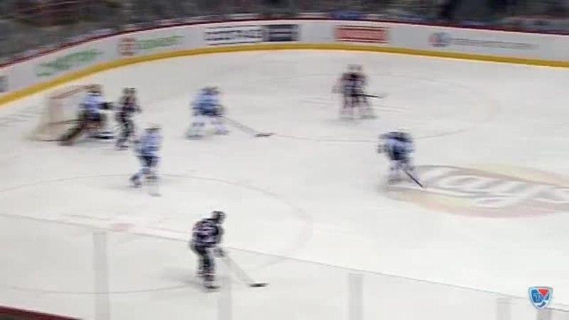 Моменты из матчей КХЛ сезона 14/15 • Гол. 1:1. Чистов Станислав (Трактор) сравнивает счет матча в большинстве 15.02