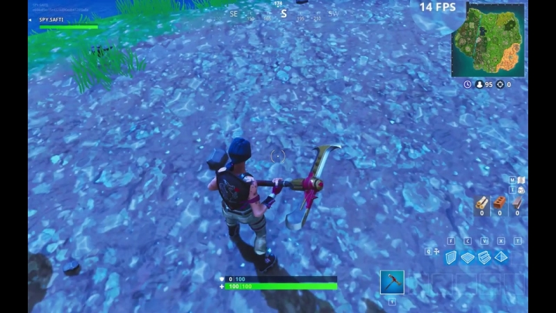[Safti] Fortnite FPS Test (70FPS vs 10FPS) On A $5K Macbook Pro 2018 - Season 5 Low/Epic Settings Comparison