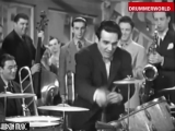Gene Krupa and His Orchestra The Brush Drum Solo 1939 (480p)