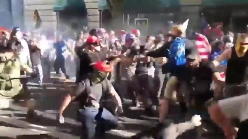 """""""Sommer der Wut"""" – Linke Gewalt bringt die USA einem Bürgerkrieg immer näher"""