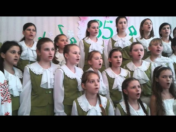 Україно, молюся за тебе. Старший хор вокально-хорового відділу ДМШ №2