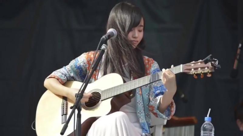 """Fujiwara Sakura - """"sakura"""" (playing and singing)"""
