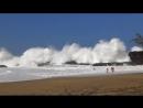 Самые большие неожиданные волны пойманные на камеру