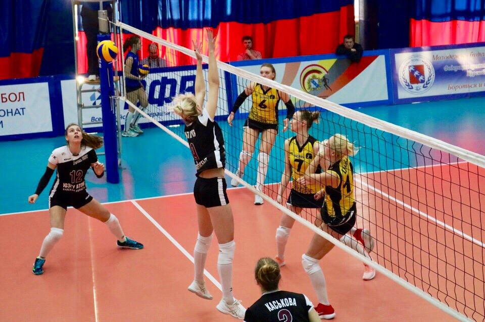 Курский «ЮЗГУ-АТОМ» сравнял счёт в четвертьфинальной серии с «Приморочкой»