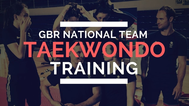 GBR NATIONAL TEAM FULL TRAINING DAY | Day In The Life of a TAEKWONDO ATHLETE