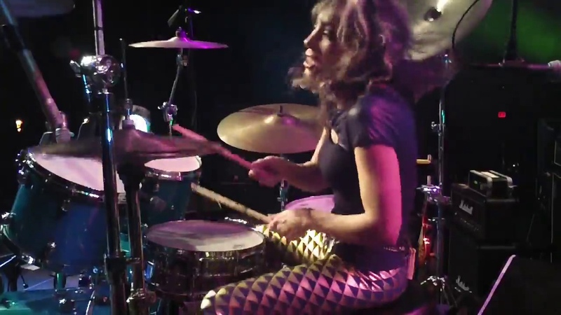 Roxy Petrucci Of Vixen - Drum Cam - Eastside Cannery, Las Vegas, NV Part 1