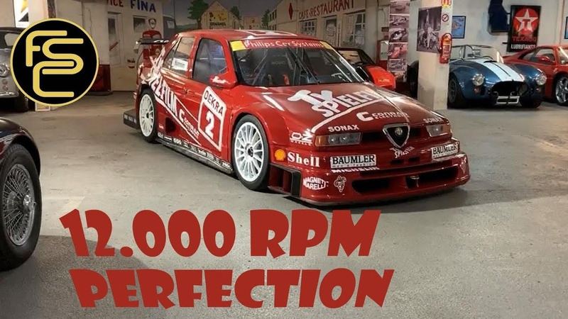 Super rare 12.000 Rpm ALFA ROMEO 155 V6 Ti DTM - REVIEW (Onboard engine sound)