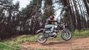 Оффроад на классических мотоциклах. CB400SS Scrambler, Alpha 72 Cafe Racer