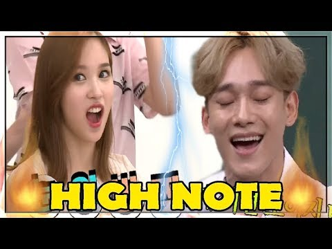 K POP Idols singing Iconic 'Tears' by So Chan Whee REACTIONS HIGH NOTE