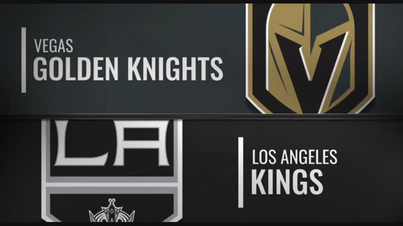 NHL Regular Season 2018-19 Vegas Golden Knights-Los Angeles Kings