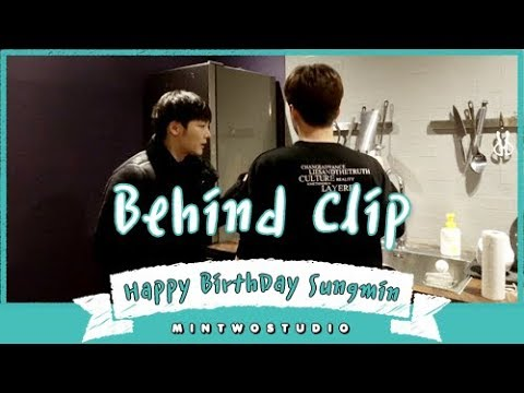 [LIVE Behind] Happy BirthDay Sungmin Goodbye 2018 | MINTWOSTUDIO