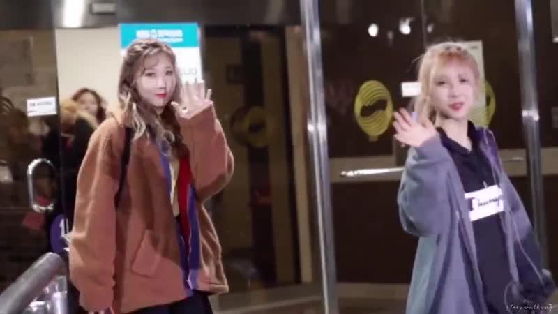 190318 불후의명곡 퇴근 - Bye Bye - - 드림캐쳐 Dreamcatcher - 한동 Handong 유현 Yoohyeon - @hf_dreamcatche
