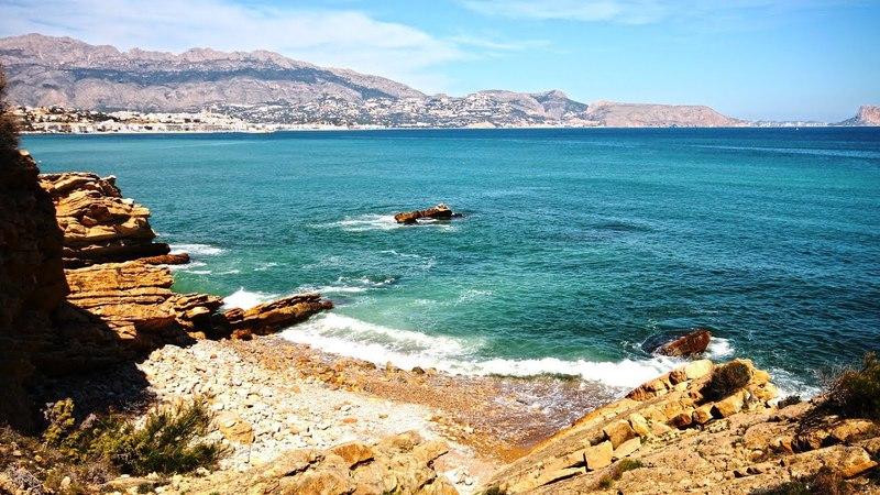 Испания Альбир продажа дома с участком на первой линии у моря дорогая недвижимость в Испании