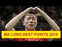 ITTF Table Tennis Ma Long Super points best rally 2018 Ma Long unbelievable points