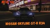 Дрифт на Nissan Skyline R34!(MTA  Drop Club) by ZEFiR