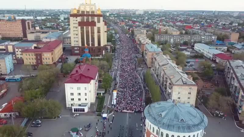 Бессмертный полк 2018 Оренбург