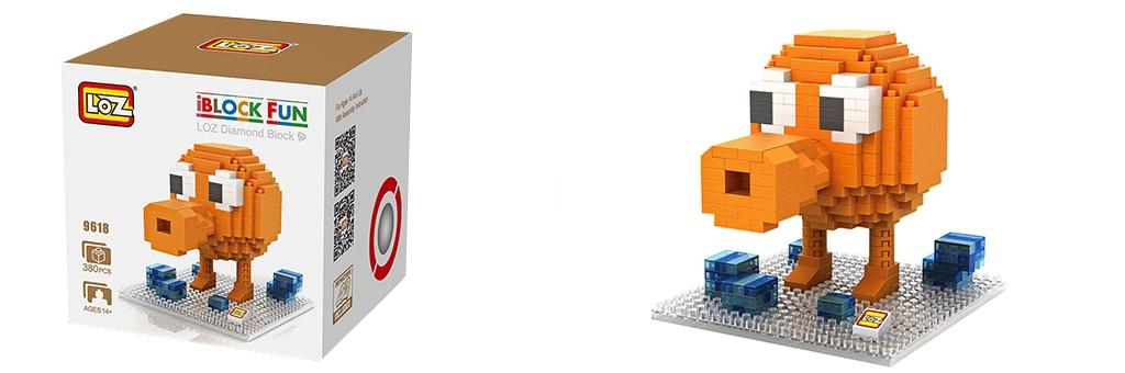 "Конструктор LOZ Diamond Block iBlock Fun ""Портер"" 9618"