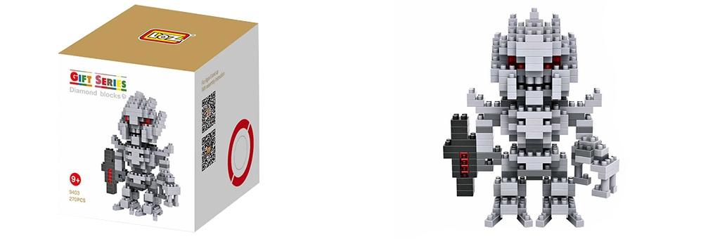"Конструктор LOZ Diamond Block Gift Series ""Мегатрон"" 9403"
