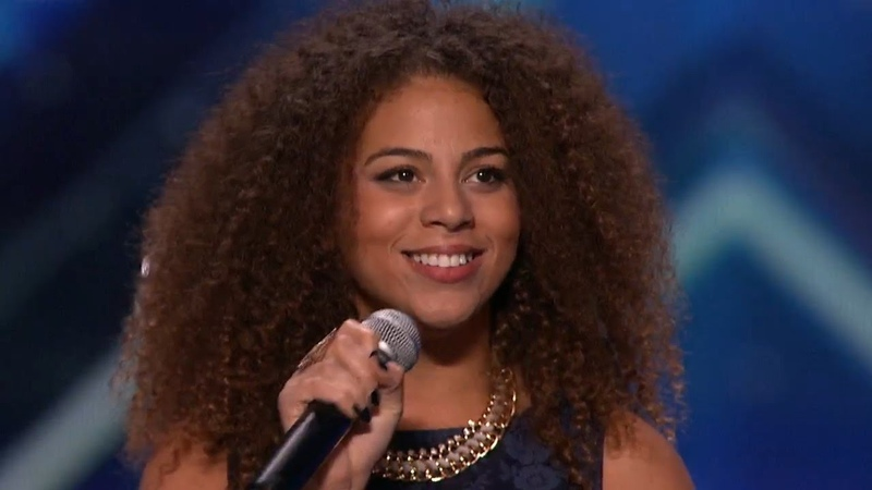 America's Got Talent 2015 S10E06 Samantha Johnson Outstanding Performance of A Natural Woman