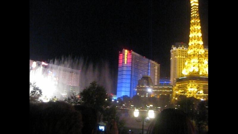 Поющий фонтан в Лас Вегасе