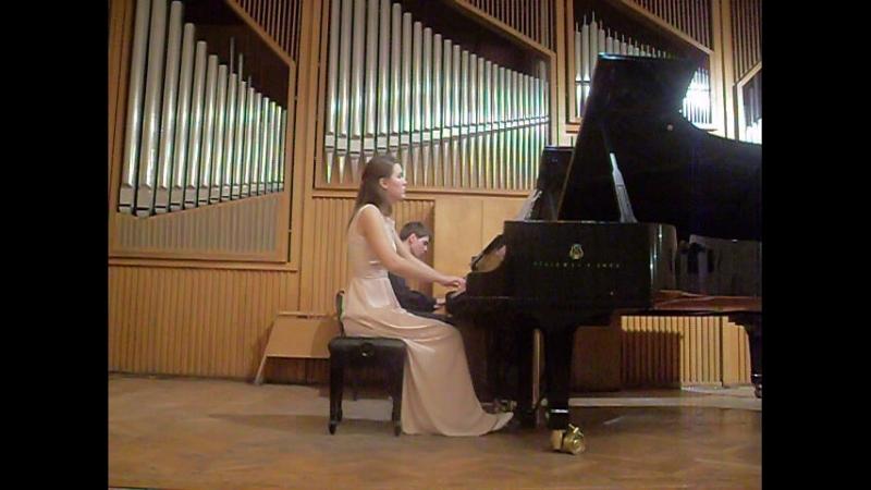 Из концерта класса концертмейстерского мастерства заслуженной артистки РФ Марианны Владимировны Савельевой