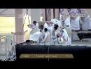 Как меняют покрывало на священной Каабе