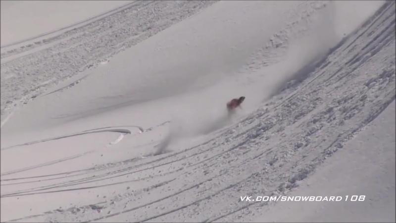 Падения на сноуборде без травм